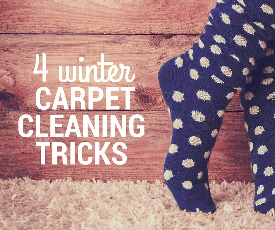 4 Winter Carpet Cleaning Tips