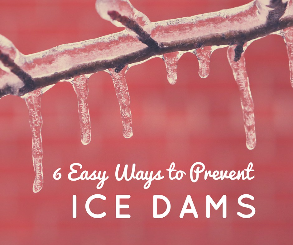 Ways to prevent ice dams
