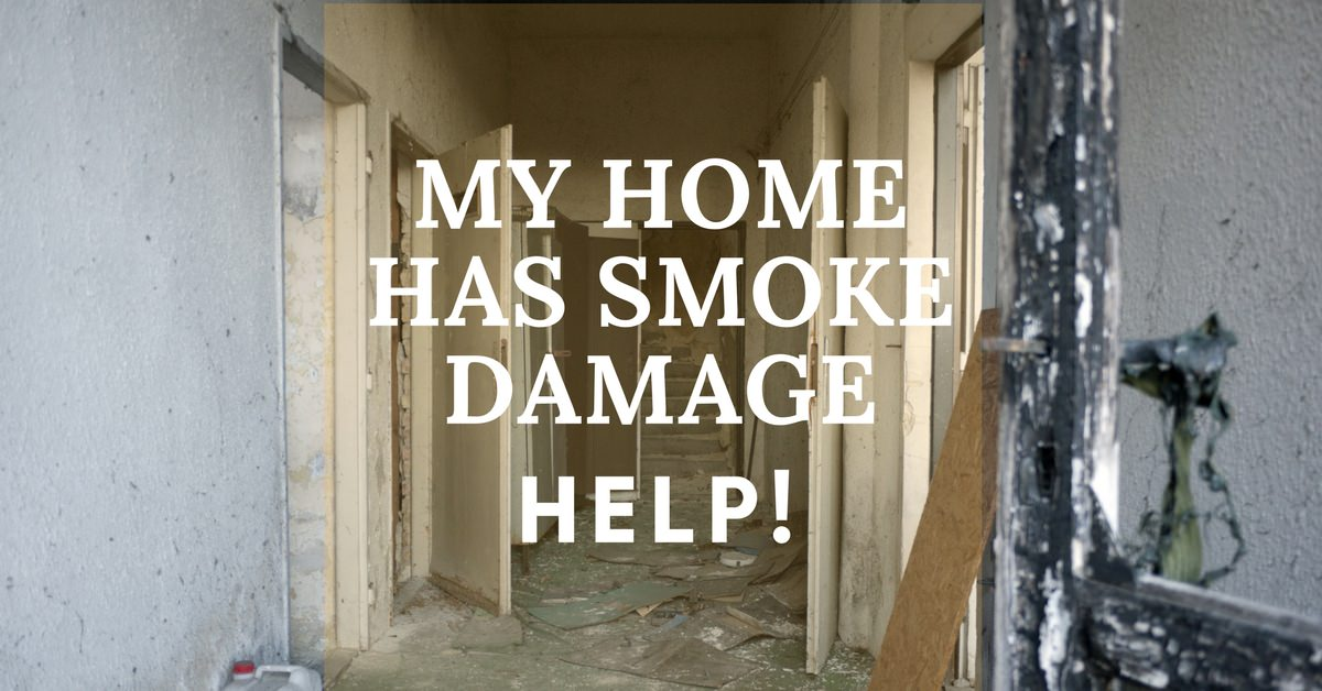 My Home Has Smoke Damage – Help!