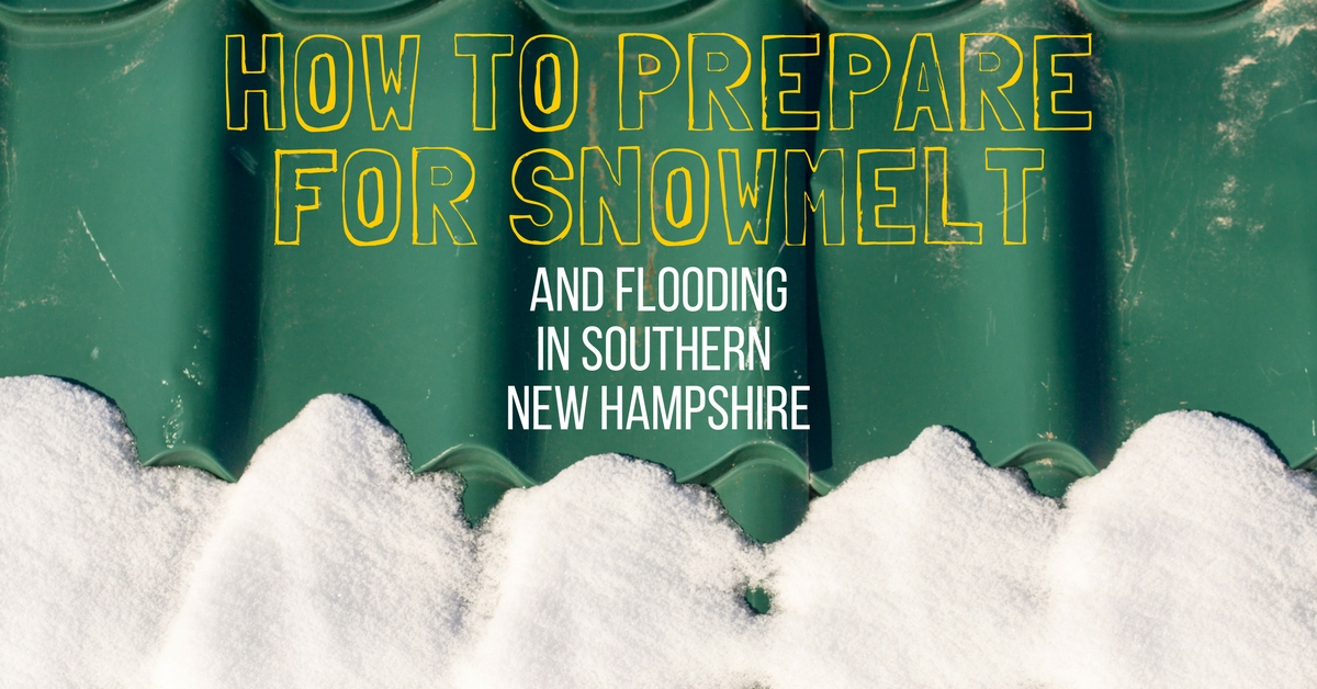 How to Prepare for Snowmelt and Flooding