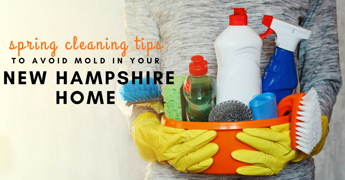 Spring Cleaning Tips to Avoid Mold in Your New Hampshire Home