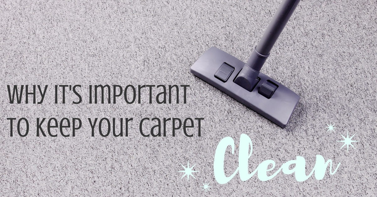 Why it is Important to Keep Your Carpet Clean