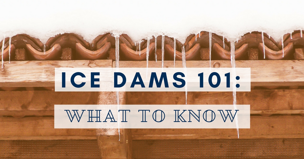 Ice Dams 101: What to Know