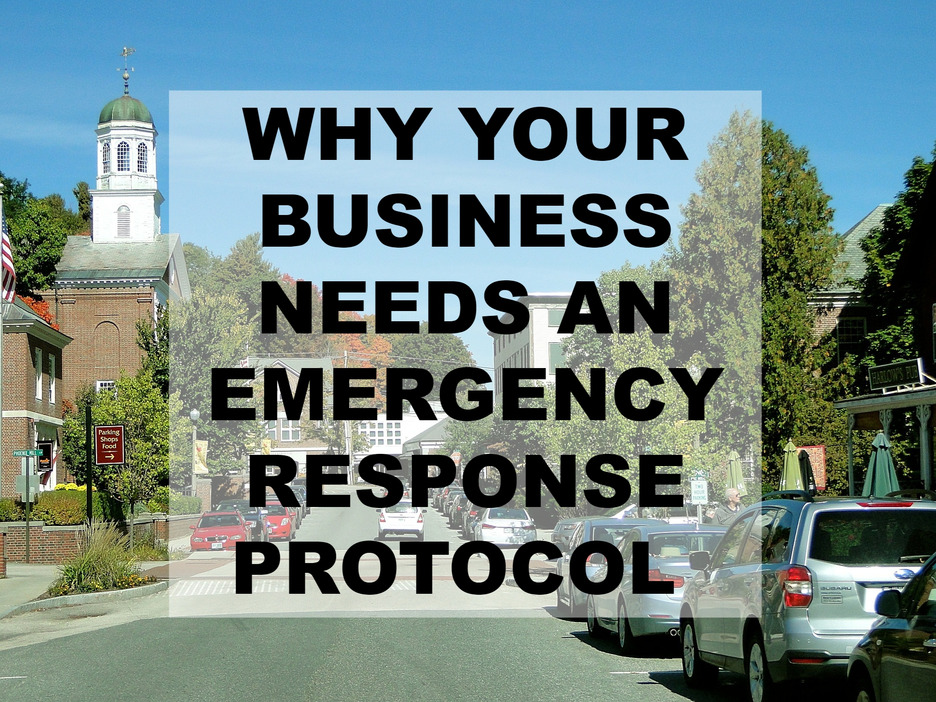 what is an emergency response protocol